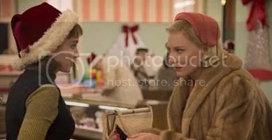 Rooney Mara and Cate Blanchett in Carol
