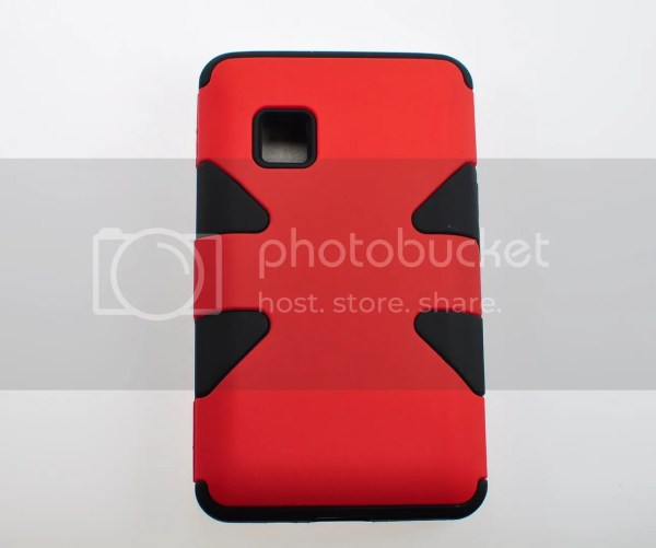 Lg 840g Hybrid Dynamic Case Hard Silicone Cover With Screen Protector