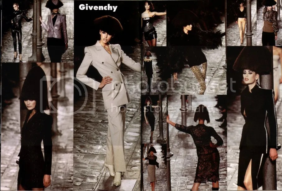 Givenchy AW 1997 rtw by Alexander McQueen