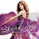 Capa do CD: Speak Now