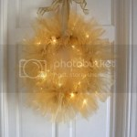 Twinkle Tulle Christmas Wreath Tutorial