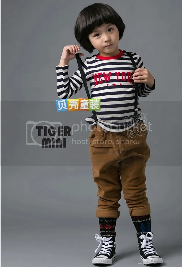 เสื้อผ้าแฟชั่นเด็ก 2013