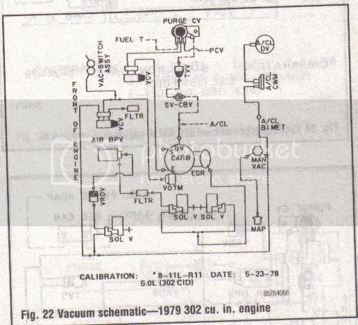 1978 Ford Truck 302 Vacuum Diagram • Wiring Diagram For Free