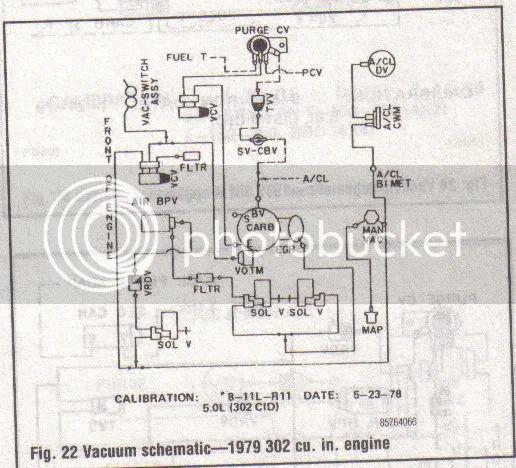 1979 ford truck vacuum diagram