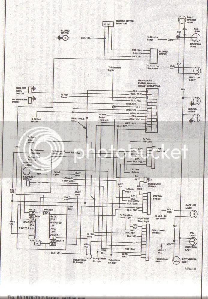 78 ford f 250 wiring diagram wiring diagram - ford f 250 wiring schematic