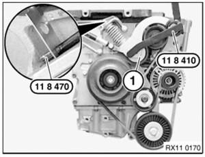 BMW Mini Cooper Correa Serpentina Llave Para Herramienta De Polea Motor W11 Supercharged S | eBay