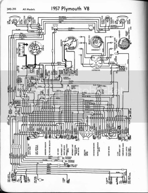 1958 Plymouth wiring Diagram