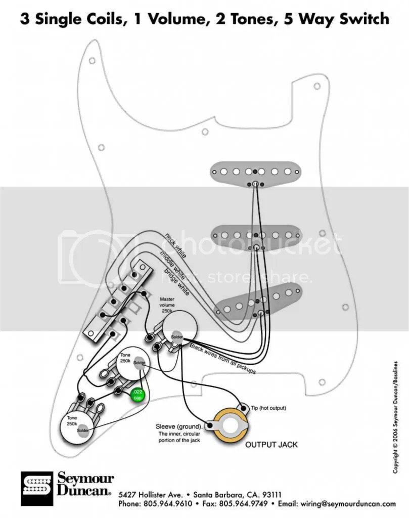Eric Johnson Stratocaster Wiring Diagram, Eric, Get Free