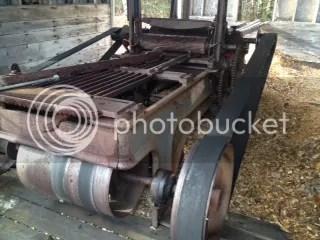 Antique Sawmill Equipment