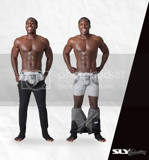 Men's underwear picture featuring SLY Underwear