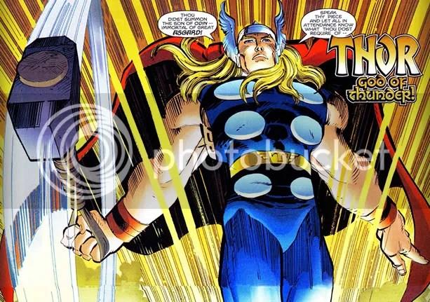 Thunder God : Thor