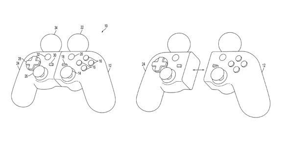 Sony patentó un mando híbrido entre el DualShock y PS Move