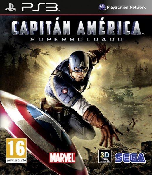 Capitn Amrica Super Soldier Para PS3 3DJuegos