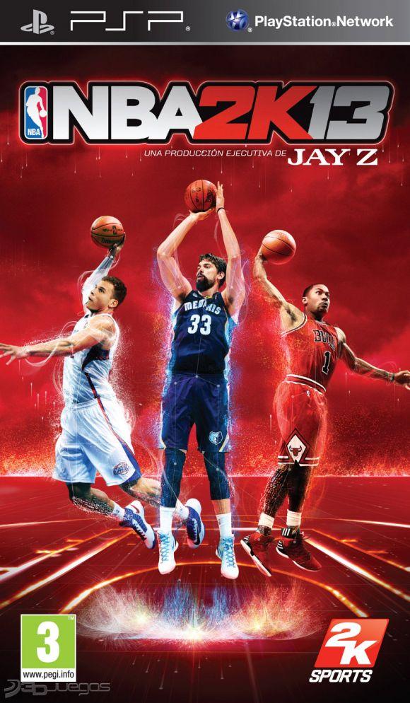 NBA 2K13 Para PSP 3DJuegos