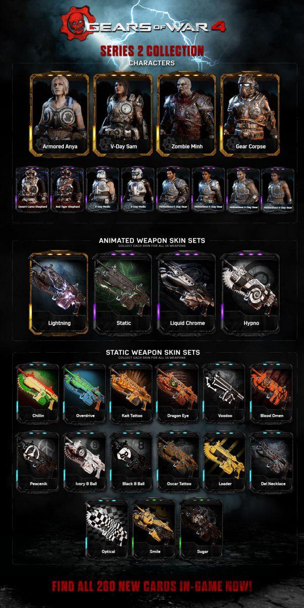 Gears of War 4 se actualizará con nuevos mapas y protagonistas en enero