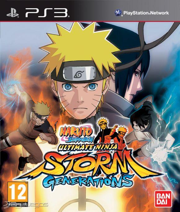 Naruto Shippuden Ultimate Ninja Storm Generations Para PS3