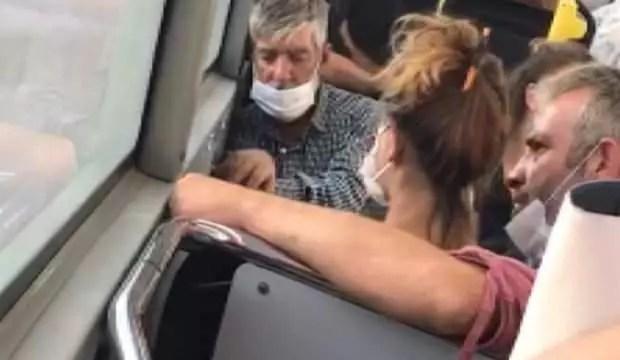 Otobüste bayana tokat atan adam: Nişanlım, şakalaşmak için yaptım 1