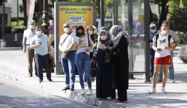 Ankara'da, toplu taşıma araçlarında yoğunluk 1