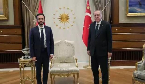 Cumhurbaşkanı Erdoğan, AİHM Lideri Spano'yu kabul etti 1