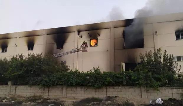 Denizli'de kuruyemiş fabrikasında patlama: 3 yaralı 1