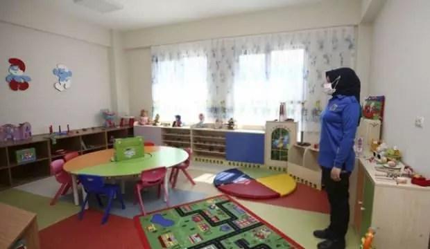 Çocuklu annelere özel bina 1