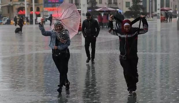 Meteoroloji'den sağanak yağış uyarısı! 1