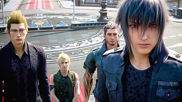 Главный герой Final Fantasy XV был вдохновлен Куртом Кобейном