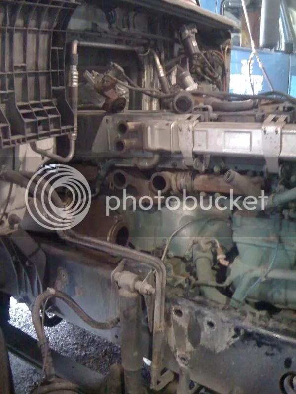 volvo d12 engine brake diagram re re blown turbo volvo vn the garage