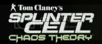 Logo do jogo Splinter Cell. Chaos Theory