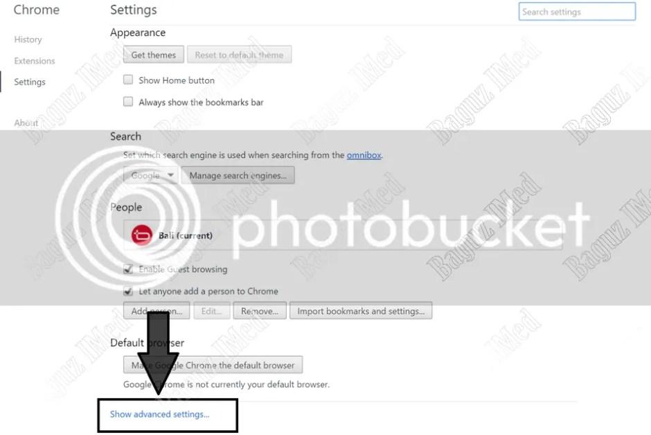 Cara Seting Proxy di browser Chrome