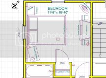 Bedroom Furniture Layout - Any good ideas?