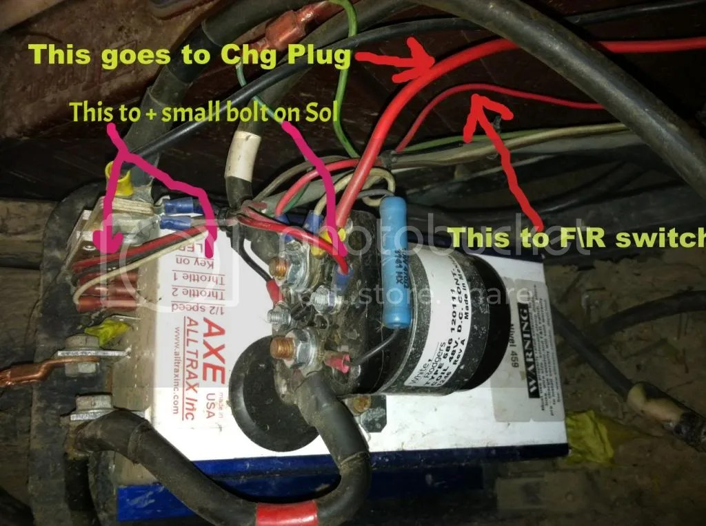 1989 ez go gas wiring diagram 1941 ford 9n question/help with sd solenoid/sd reverse contactor/new controller