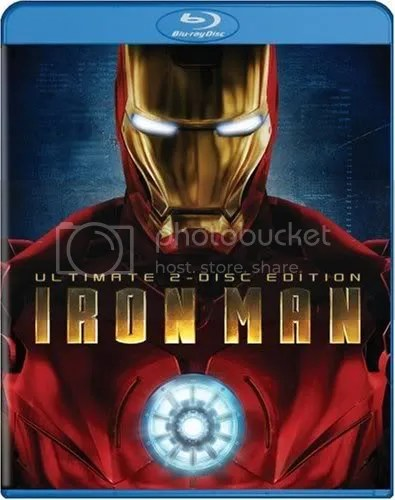 IRON MAN BLU RAY 9/30