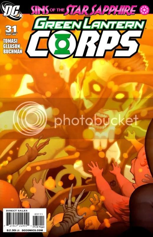 GREEN LANTERN CORPS #31