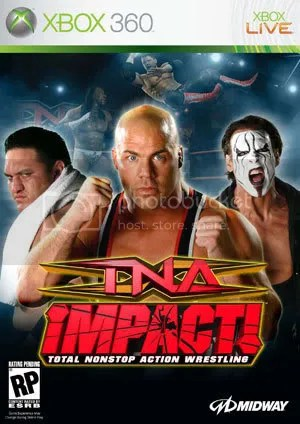 TNA IMPACT VIDEO GAME