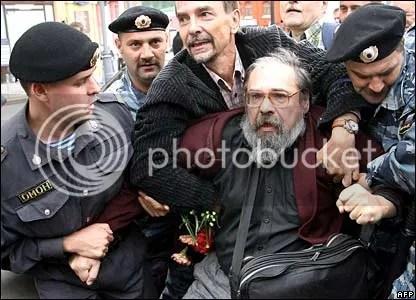 human rights activist arrested. via the BBC.