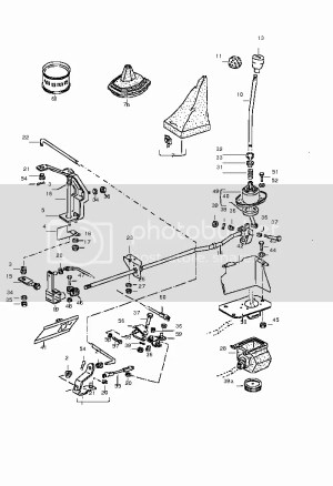 VWVortex  Shifter linkage diagram
