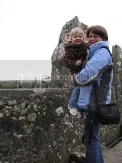 Grandma & Erica, atop Blarney Castle
