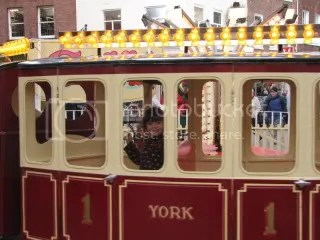 Riding the Train in York