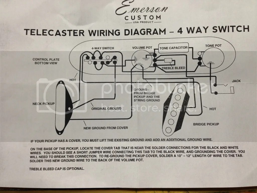 telecaster wiring diagram 5 way photocell light sensor fralin blues special installation with 4