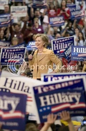 Hillary wins in TX