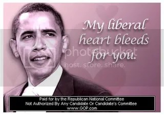 Happy Valentines Day from Barack Obama, Liberal Messiah