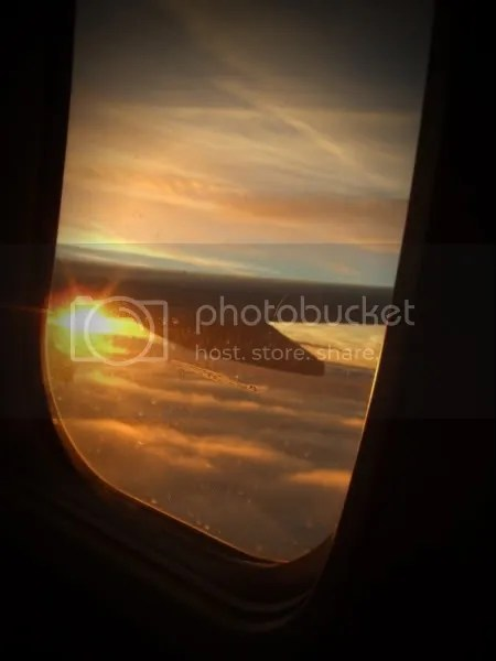 Sunrise Airplane