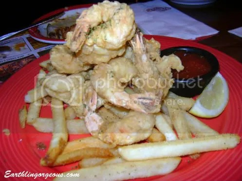 Prawn and Chips