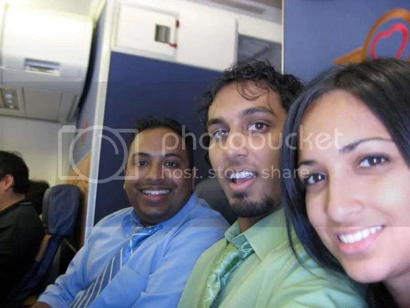 Dudley, Sajan and I fly to Dallas on Southwest