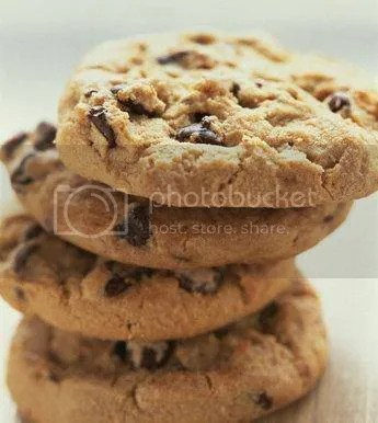 A packet of cookies