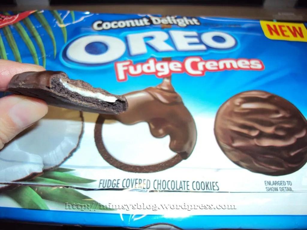 Oreo Coconut Delight Fudge Creams