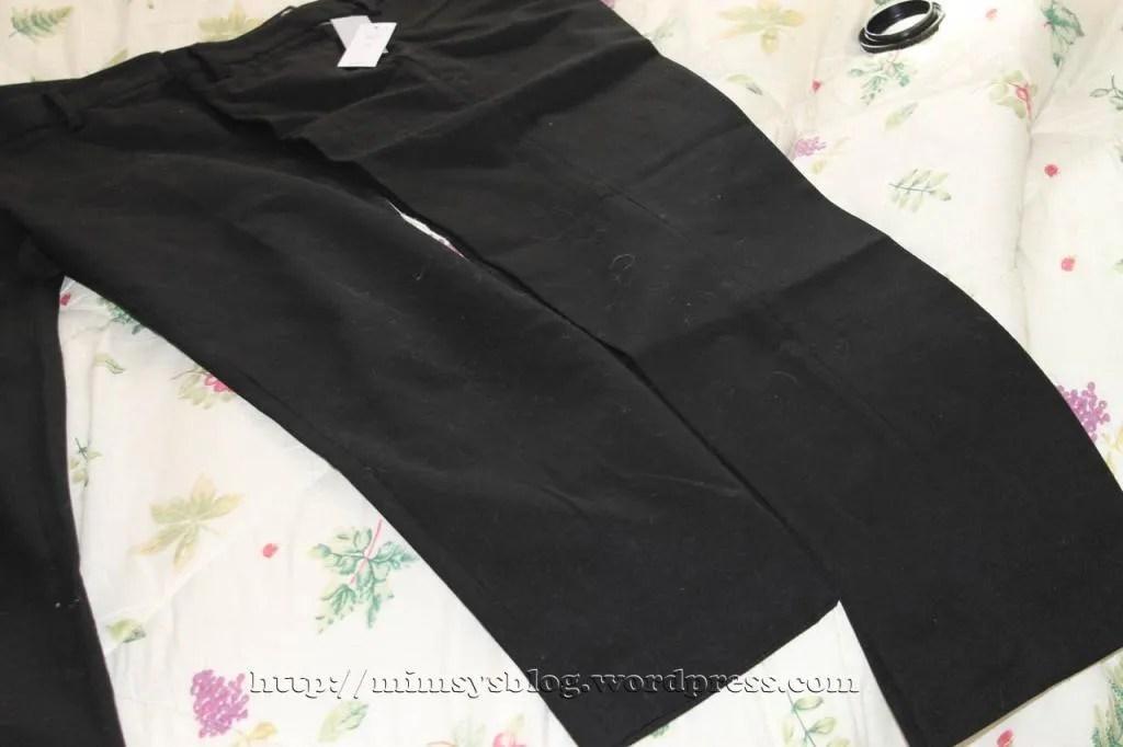 Gap Slim Cropped Pants - True Black - 6 Regular, 6 Tall
