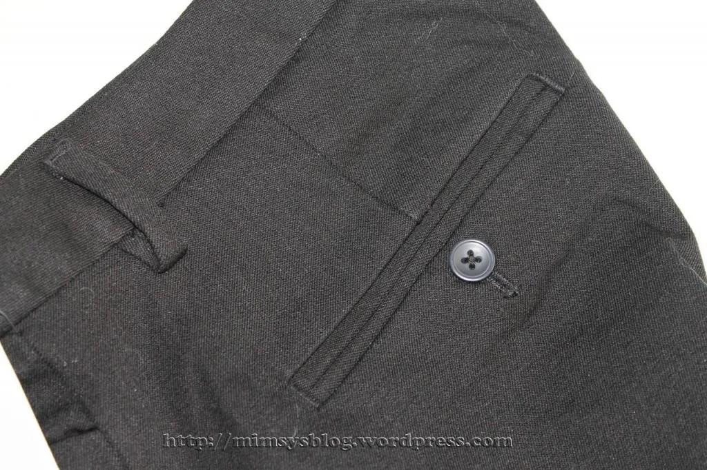 Gap Slim Cropped Pants - True Black