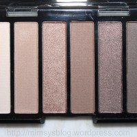 MUA Makeup Academy Nude Eye Shadow Palette